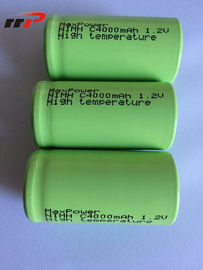 1.2VC ukuran 4000mAh Nimh Rechargeable Battery Pack UL CE KC IEC SGS TISI