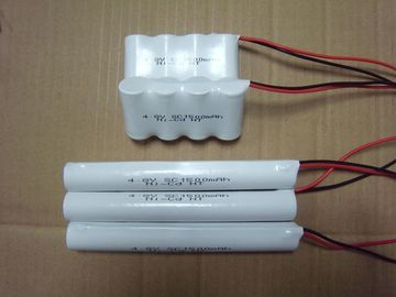 Cina Emergency Lighting Nicd Battery Packs SC 1500mAh 4.8V Suhu Tinggi Distributor
